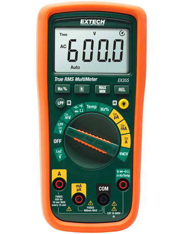 Extech EX355 True RMS Multimeter