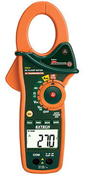 Extech EX810 Clamp Meter & IR Thermometer