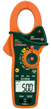 Extech EX820 Clamp Meter & IR Thermometer