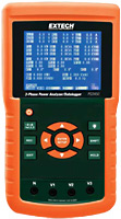 Extech PQ3450 3-Phase Power Analyzer / Data Logger
