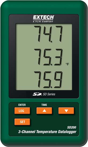 Extech SD200 Temperature Data Logger