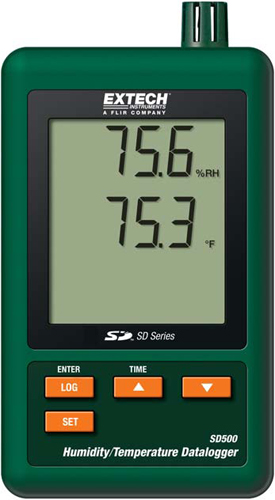 Extech SD500 Humidity & Temperature Data Logger
