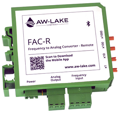 AW Gear Meters FAC-R Frequency to Analog Converter