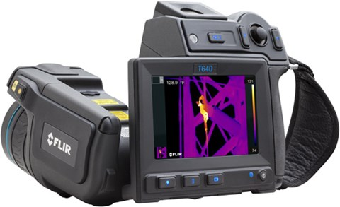 FLIR T640 Thermal Imaging Camera | Thermal Imagers / Infrared ...