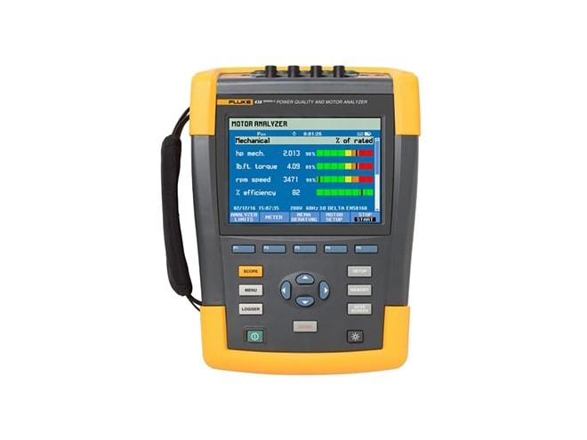 Fluke 438 Ii Power Quality Motor Analyzer Power Quality Analyzers Instrumart