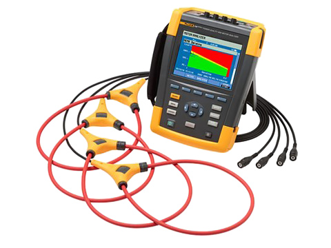 Fluke 438-II Power Quality & Motor Analyzer
