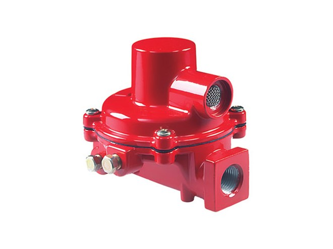 Fisher R122H First-Stage Regulator