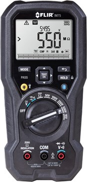 FLIR IM75 Insulation Tester / Digital Multimeter