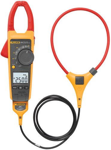 Fluke 376 Clamp Meter Ac Dc : Fluke true rms ac dc clamp meter meters
