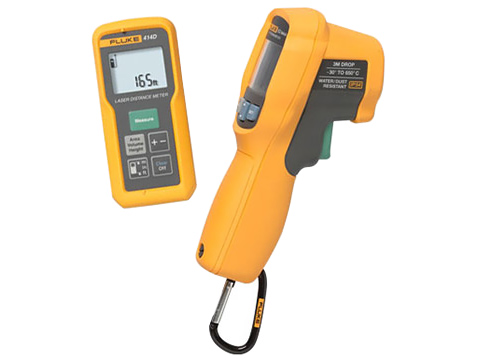 Fluke 414D/62 MAX+ Laser Distance Meter and Infrared Thermometer Kit