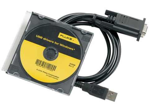 Fluke USB to RS-232 Cable Adapter