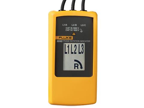 Fluke 9040 Phase Rotation Indicator   Phase Rotation Testers ...