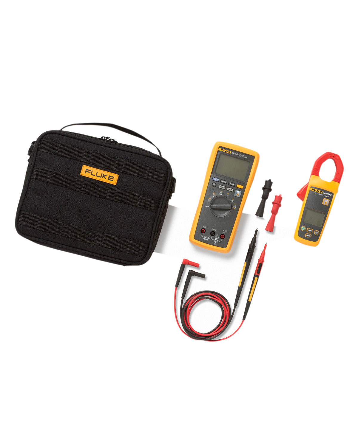 Fluke A3000 FC Wireless AC Current Clamp Module Kit