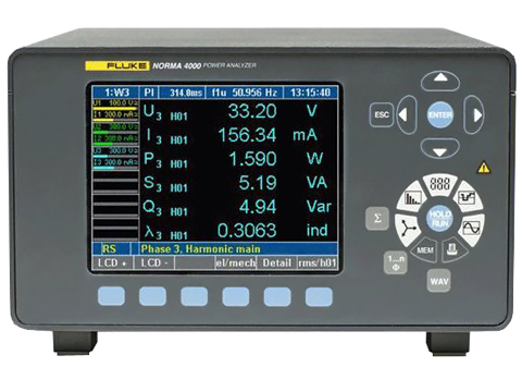 Fluke Norma 4000/5000 Power Analyzers