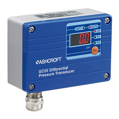Ashcroft GC55 Wet/Wet Differential Pressure Transducer