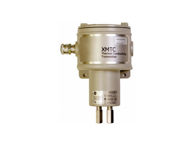 Panametrics XMTC Thermal Conductivity Binary Gas Transmitter