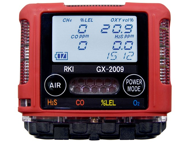 RKI Instruments GX-2009 Confined Space Monitor
