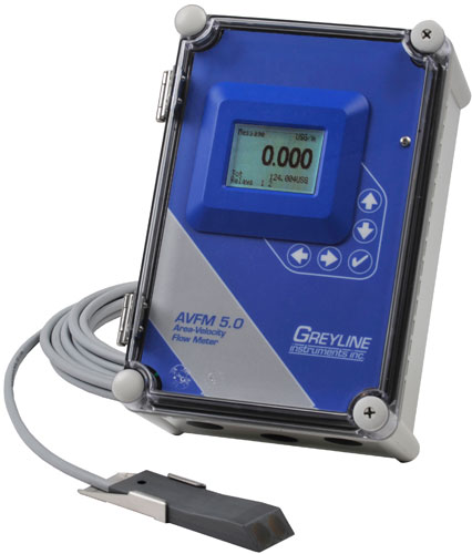 Greyline Instruments AVFM 5.0 Ultrasonic Flow Meter