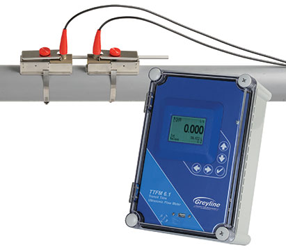Greyline Instruments TTFM 6.1 Ultrasonic Flow Meter