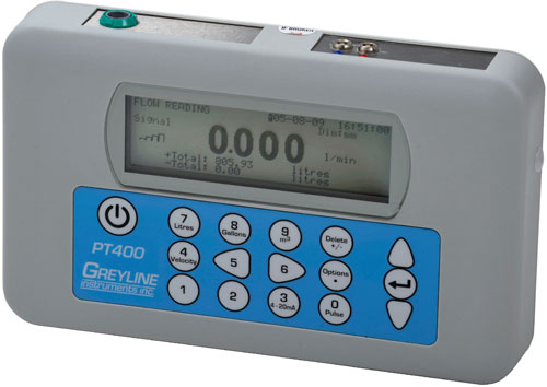 Greyline Instruments PT400 Ultrasonic Flow Meter