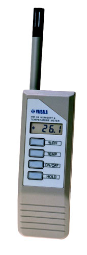 Vaisala HM34 HUMICAP® Humidity and Temperature Meter