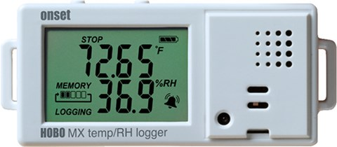 HOBO MX1101 Temperature / RH Data Loggers