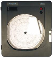 Honeywell dr4500 truline circular chart recorder circular chart