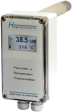 Hygrocontrol Type 81 / 82 RH and Temperature Transmitter