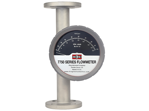 King Instrument 7750 Series Rotameter