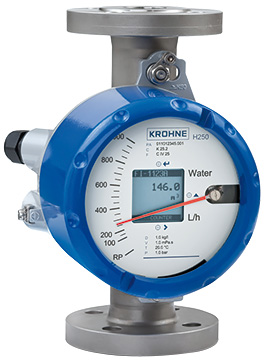 Krohne H250-C Variable Area Flow Meter