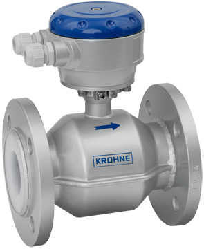krohne ultrasonic flow meter manual