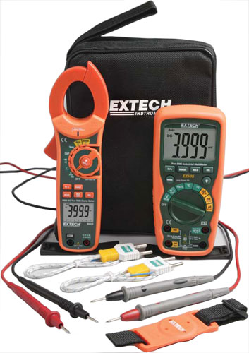 Extech Industrial DMM/Clamp Meter Test Kit (MA620-K)