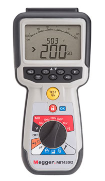 Megger MIT430/2 Insulation Tester