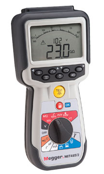 Megger MIT480/2 Series Insulation Testers