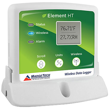 MadgeTech Element HT Humidity & Temperature Data Logger