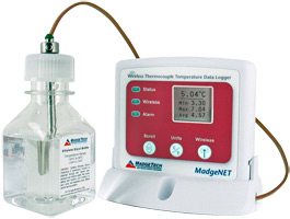 MadgeTech VTMS Vaccine Temperature Data Logger System