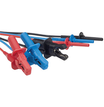 Megger Medium Clip 6kV Test Leads