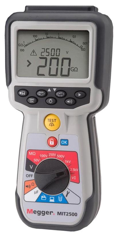 Megger Mit2500 Insulation Tester Megohmmeters