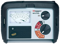 Megger MIT310 Series Insulation Tester