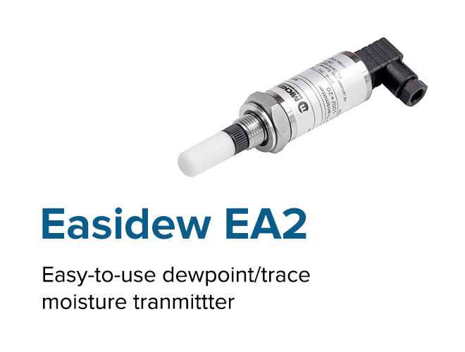 Easidew EA2 - Easy-to-use dewpoint/trace moisture tranmittter