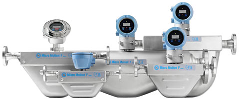 Micro Motion F-Series Coriolis Flow Meters