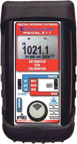 PIE 211 Automated RTD Calibrator