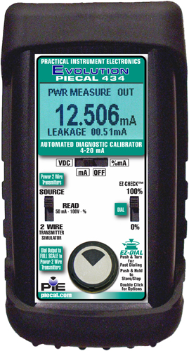 PIE 434 Automated Diagnostic 4-20 mA Calibrator