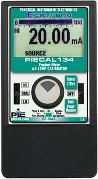 PIE 134 Pocket-Mate mA Loop Calibrator