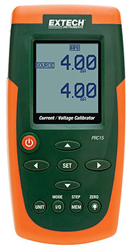 Extech PRC15 Current & Voltage Calibrator