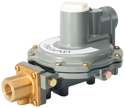 Fisher R632 Integral Two-Stage Regulators