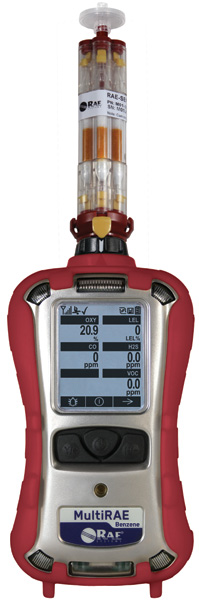 RAE Systems MultiRAE Benzene Gas Monitor
