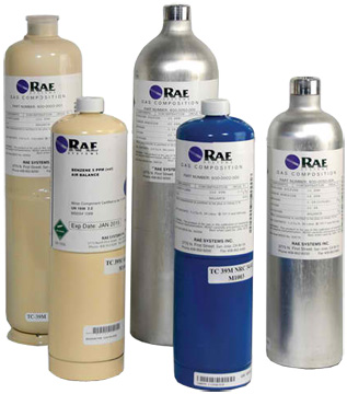 RAE Systems MultiRae Calibration Gases