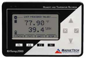 MadgeTech RHTemp2000 Humidity & Temperature Data Logger