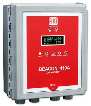 RKI Instruments Beacon 410A Gas Controller